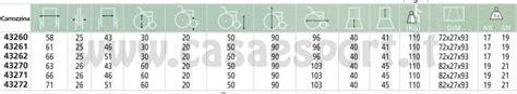 dimensione sedia a rotelle carrozzina essex acciaio larghezza 43cm gima 110 kg sedia