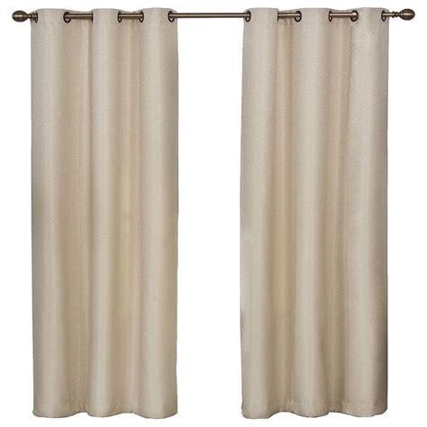 grommet blackout curtains 95 eclipse madison light khaki polyester grommet blackout