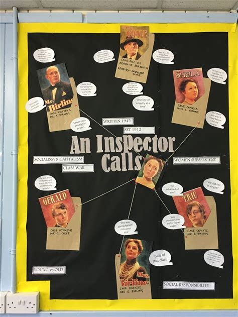 themes in an inspector calls lesson 7 best english images on pinterest an inspector calls