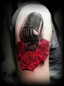 mic tattoos tattoos on pinterest sugar skull sister tattoos and tattoos and body art