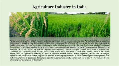 the agriculture manifesto ten key drivers that will shape agriculture in the next decade books indian agriculture sector tremendous scope for entrepreneur