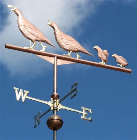 Quail Weathervane Quail Weathervane On Feather West Coast Weathervanes