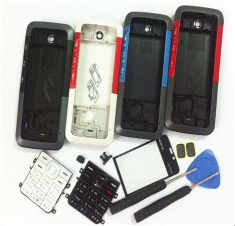 Casing Nokia 5310 Motif 6 new mobile phone housing cover keypad tools for nokia 5310 5310xm 5310