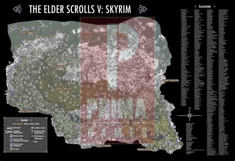 elder scrolls v skyrim atlas prima official guide books the elder scrolls v skyrim legendary edition guide