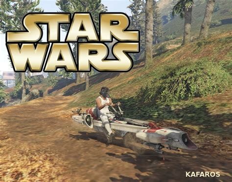 gta 5 starwars mod star wars barc speeder gta5 mods com