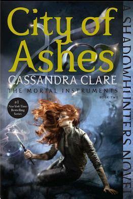 city  ashes  cassandra clare mortal instruments
