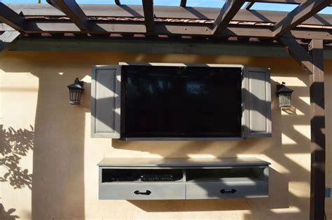 waterproof outdoor wall cabinet 17 best ideas about outdoor tv cabinets on