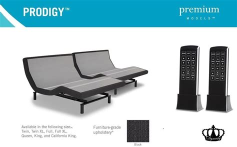 dynasty mattress split king 15 5 quot gel adjustable beds w prodigy 2 0 leggett platt no setup