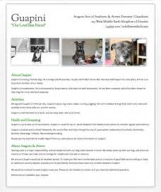 pet resume how to rent with pets