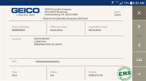 auto insurance card template free download template design