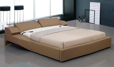 overnice leather elite platform bed  electric