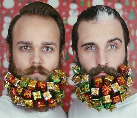 decorate beard for christmas christmas decoration ideas for your beard