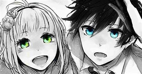 anime eyes boy and girl in the garden of one quot evil quot via tumblr image 1491654