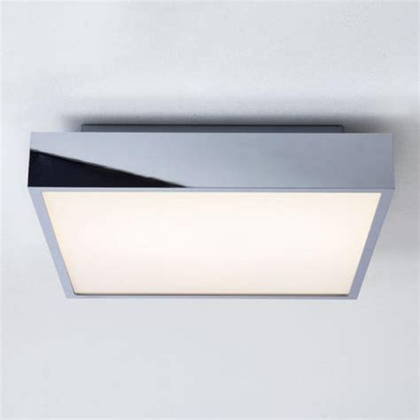 Led Bathroom Lights Ceiling Square Flush Bathroom Ceiling Lights From Easy Lighting