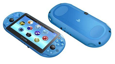 Ps Vita Slim Aqua Blue New Color Mint Baru Sebulan Psvita Playstati new playstation vita color coming this fall egmnow