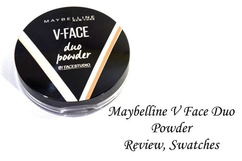 Maybelline V Duo Powder maybelline v duo powder review swatches 2 makeup