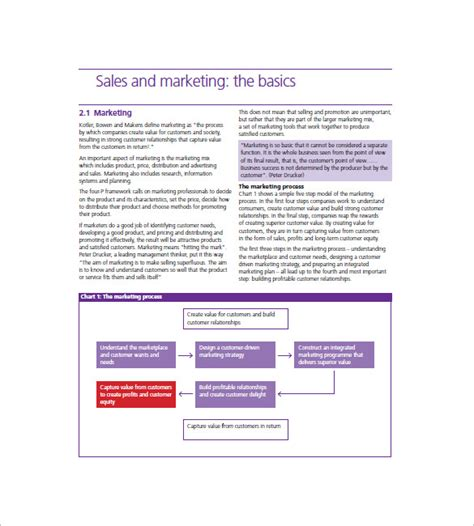 sales and marketing plan template free hotel marketing plan template 12 free word excel pdf