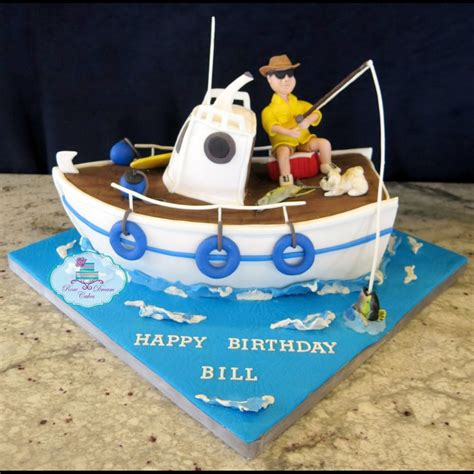 fishing boat birthday images 40 best fishing images on pinterest fishing cakes boat