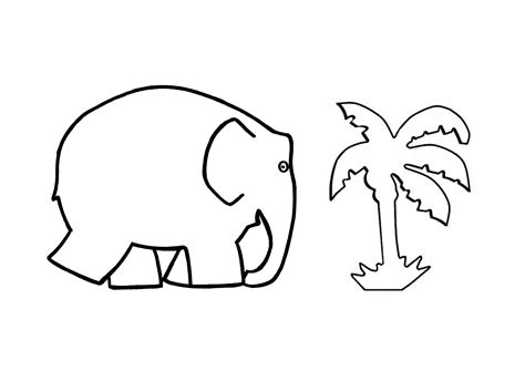 free elmer the elephant coloring pages