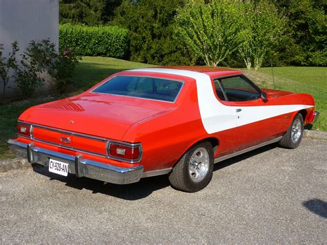 michael david ford starsky et hutch voiture