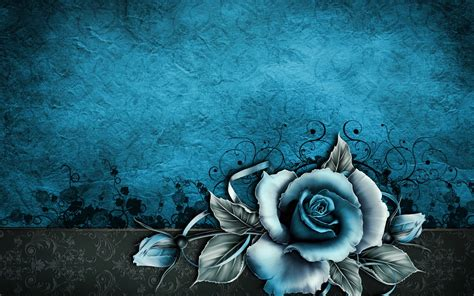 abstract rose wallpaper vintage rose abstract blue wallpapers vintage rose