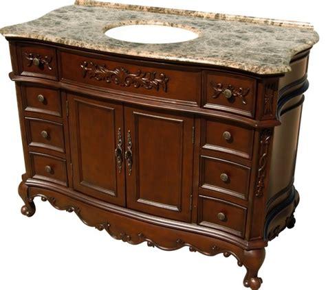 Traditional Vanity by 48 Inch Traditional Single Sink Bathroom Vanity
