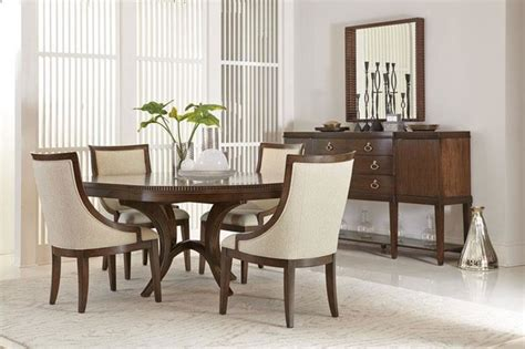 bernhardt dining room furniture bernhardt beverly glen round dining table contemporary