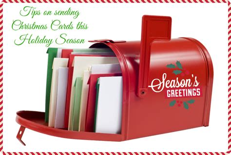 Send Gift Card - tips on sending christmas cards