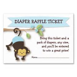 baby raffle ticket template 5 best images of monkey raffle tickets free