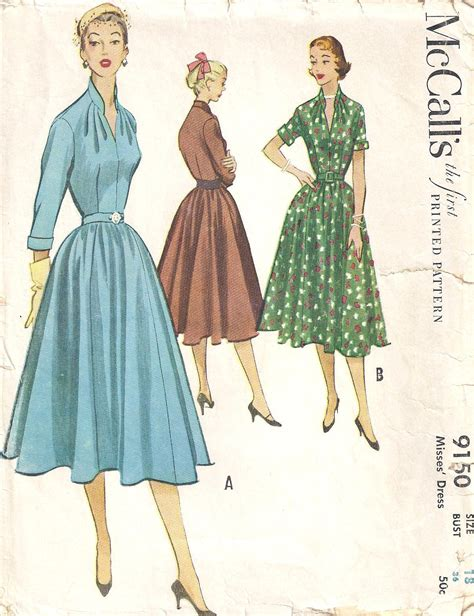 pattern for vintage dress vintage vogue designer patterns vintage sewing patterns
