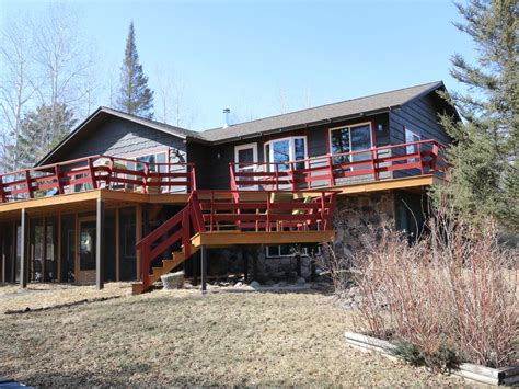Cabin Rentals In Duluth Mn by Beautiful Lakefront Home In The Duluth Area 5 Br