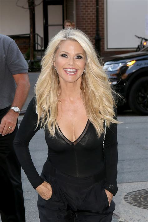 christie brinkley christie brinkley out in new york city july 2016