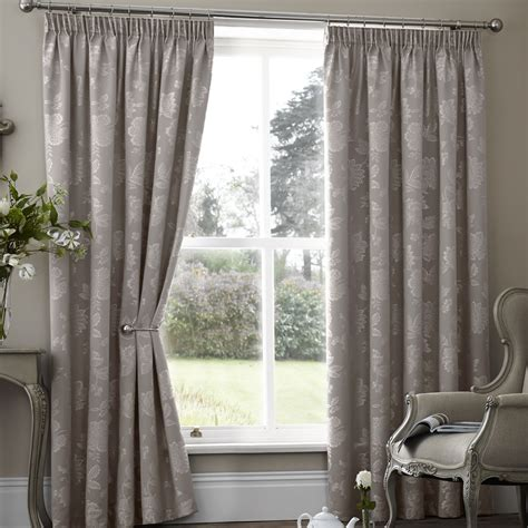 winter kitchen curtains palmero taupe thermal pencil pleat curtains pencil pleat