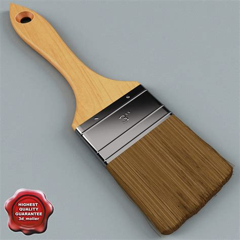 Painting 3d Model by Paint Brush V3 By 3d Molier Collection Of 3d Models By 3d