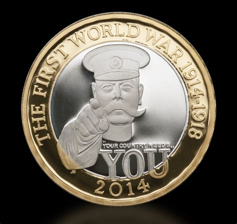 Lord Kitchener 2 Coin by It S Here How You Can Own The 2014 World War 163 2
