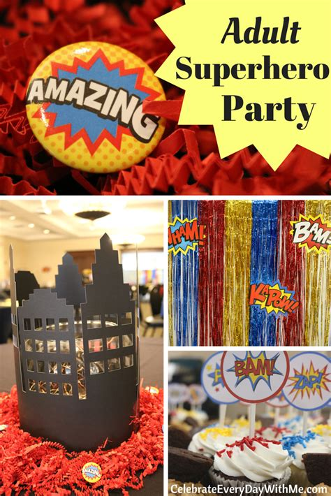 adult superhero party ideas fantastic decorating ideas for an adult superhero party