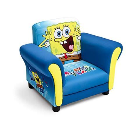 spongebob recliner delta children upholstered chair nickelodeon spongebob