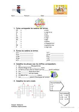 espagnol enfant compter en 1973741784 65 gratuit fle nombres fiches p 233 dagogiques