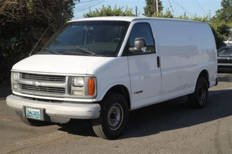 auto body repair training 2002 chevrolet express 3500 parental controls sell used 2002 chevrolet express 3500 cargo van automatic 8 cylinder no reserve in orange