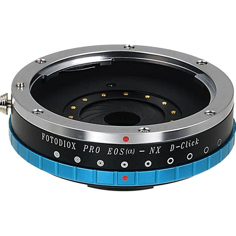 best nx lens fotodiox pro lens adapter with de clicked iris eosa nx apt