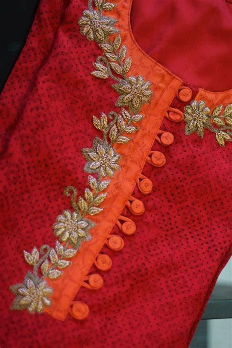 embroidery design for kurta neck farbbberatung stilberatung farbenreich mit www farben