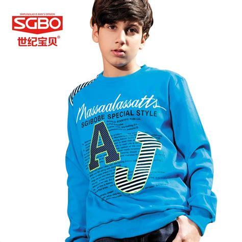 Shirts C 10 13 14 by Sgbo Brand Letter T Shirts Boy Clothing 11 12 13 14