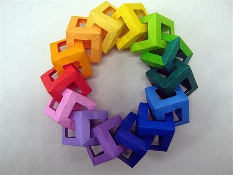 Origami Cube Ring - origami maniacs origami window cube ring