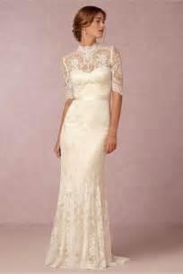 vintage lace wedding dresses vintage lace wedding dresses from bhldn modwedding