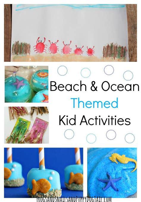 summer themed events beach and ocean themed kid activities play ideas kid