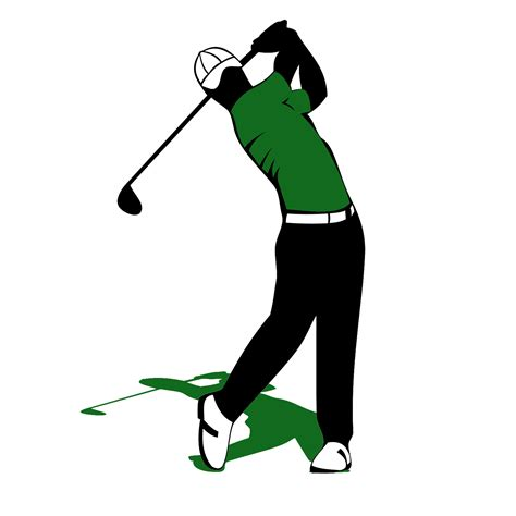 golf clipart golf clip image black and white 2019