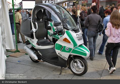 Motorrad Forum Saarland by Einsatzfahrzeug Sb Bmw C1 Krad Bos Fahrzeuge