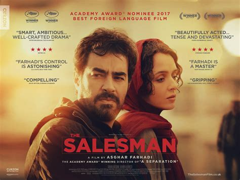 film film the salesman wins oscar of best foreign language movie