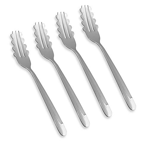 Set Of 4 Fork buy forghetti large pasta forks set of 4 from bed bath