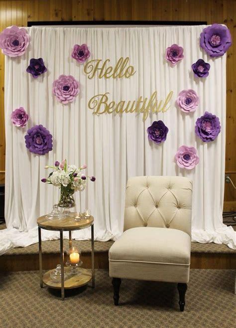backdrop design wedding sle bridal shower decor special event decor purple bridal